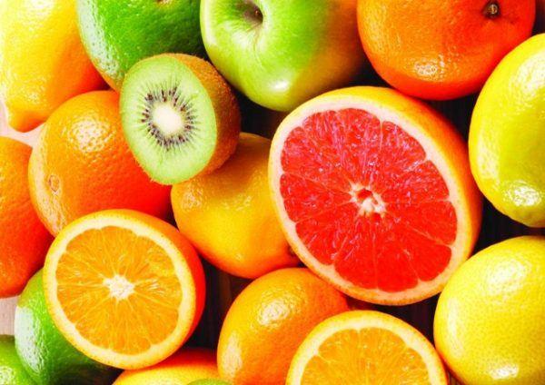vitamina c frutas
