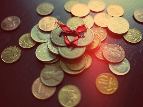 Monedas chinas suerte