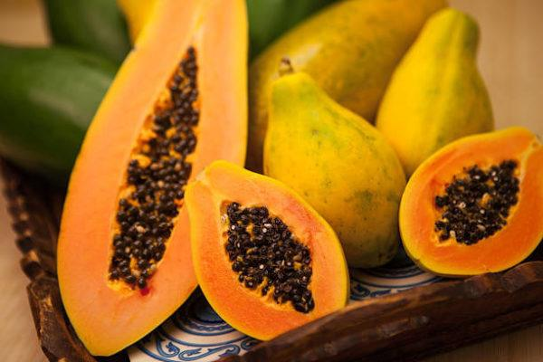 Papaya efectos secundarios