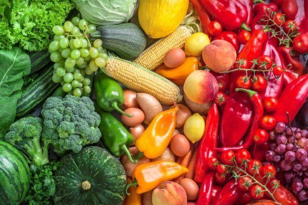 Mejores alimentos para tratar un linfoma frutas verduras