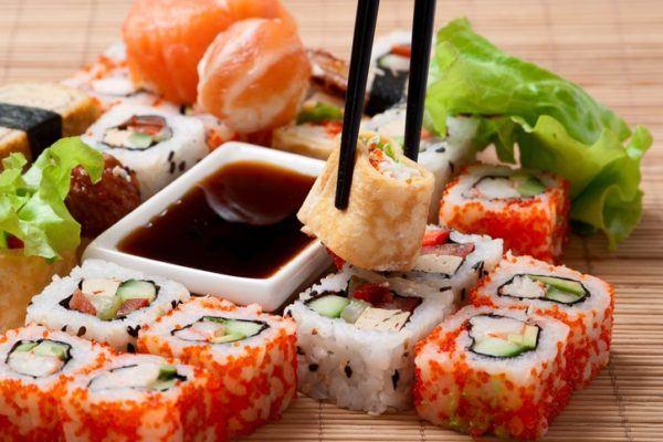 Sushi reducir calorias