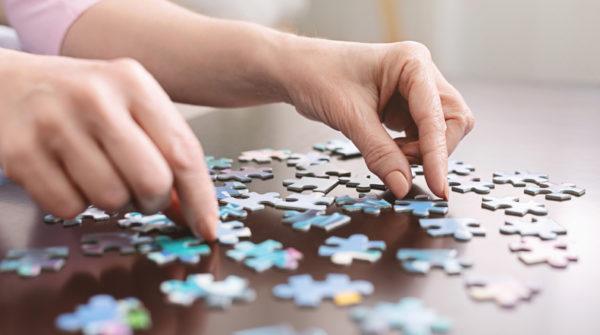 Ejercicios de memoria para la tercera edad puzzle