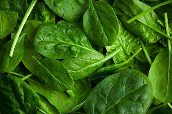 Alimentos que nos ayudan a combatir la celulitis este verano espinacas