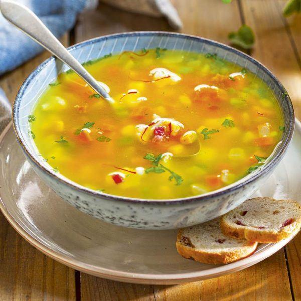 Sopa quemagrasa ligera y saciante fácil de hacer col