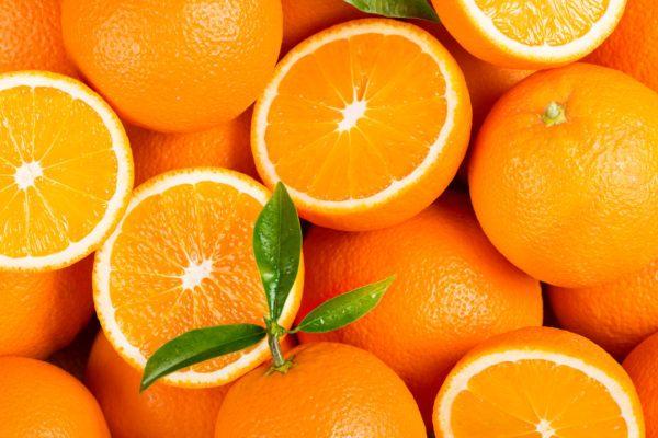 Superalimentos para bajar colesterol naranja
