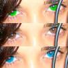 Lentes cosméticos, un riesgo para la vista
