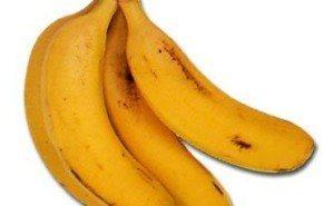 Plátano, rico en hidratos de carbono