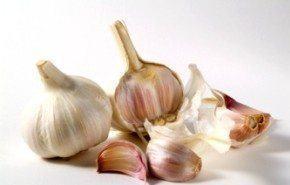 Ajos para la hipertensión y el colesterol