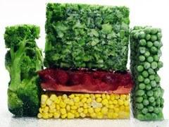 ¿Cómo deben congelarse las verduras?