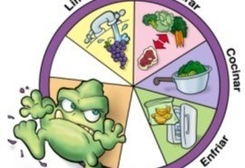 Las enfermedades a través de alimentos