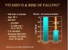 Vitamina D previene las fracturas