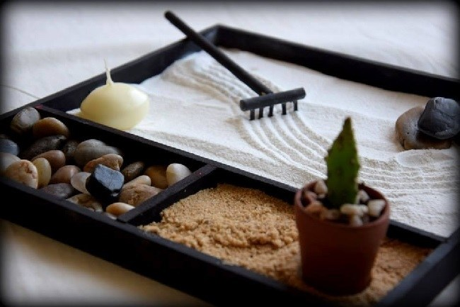 C mo hacer un jard n zen pasos y decoraci n - Arena jardin zen ...
