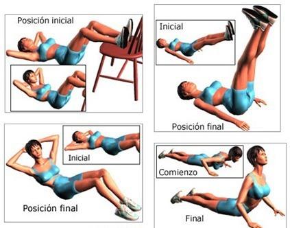 ejercicios de gimnasio