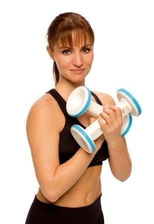 ejercicios pesas brazo