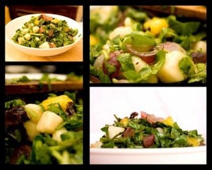 ensalada de berros y espinacas(p)