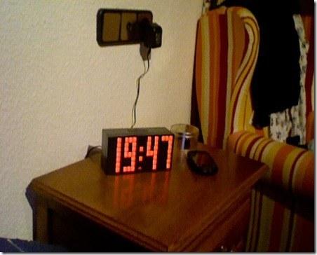 no aparatos electricos mesita de noche