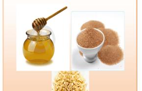 Exfoliantes caseros| Azúcar moreno, avena y miel