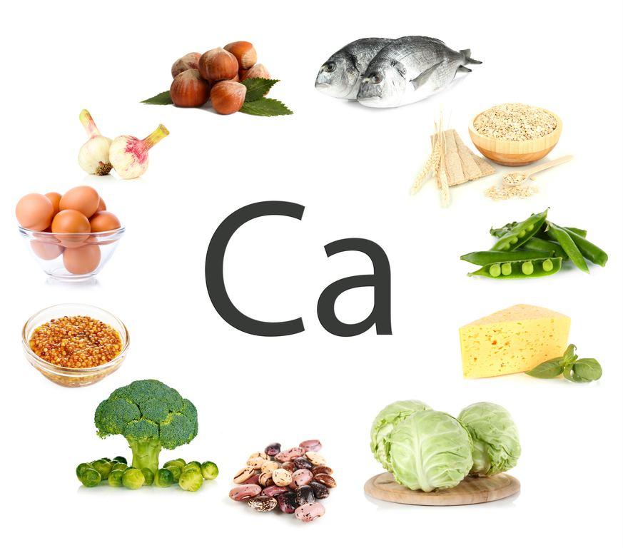 Resultat d'imatges de alimentos calcio