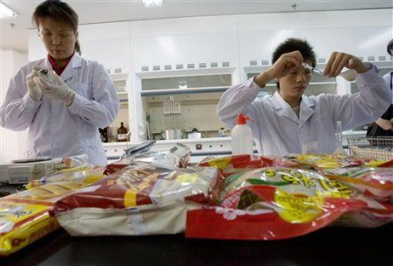 China Food Tainted