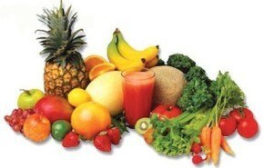 Sólo cinco al día: frutas y verduras