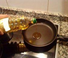 Freir en aceite de oliva o girasol| no aumenta el riesgo cardiovascular