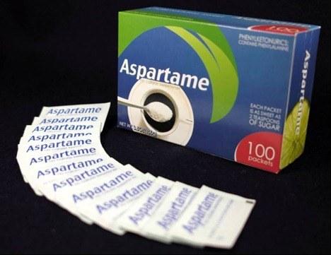 Aspartamo y sus efectos secundarios