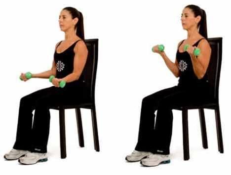 Como hacer curl de biceps