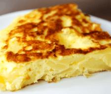 Cómo cocinar una tortilla de patata sana