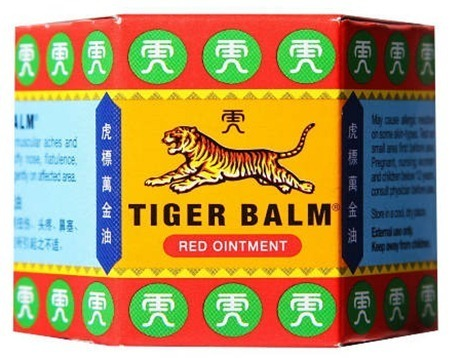Bálsamo tigre rojo, propiedades