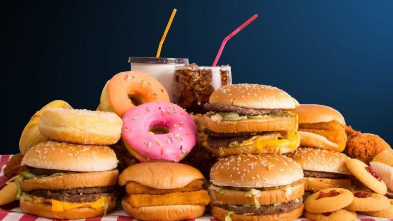 Resultado de imagen de comida basura