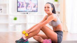 Ejercicios fitness para hacer en casa