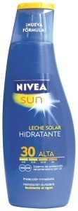 comparativa-de-cremas-solares-cual-de-estas-marcas-nos-miente-NIVEA-SUN-leche-solar-hidratante