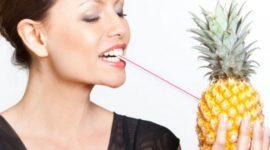 La dieta de la piña para perder peso y líquidos