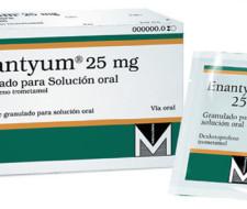 Enantyum: indicaciones, usos y efectos secundarios