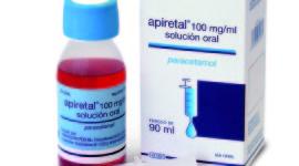 Cuál es la dosis de Apiretal en niños