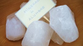 Piedra de alumbre como desodorante natural: ¿funciona?