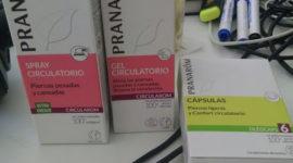 Productos naturales para piernas cansadas de Pranarôm