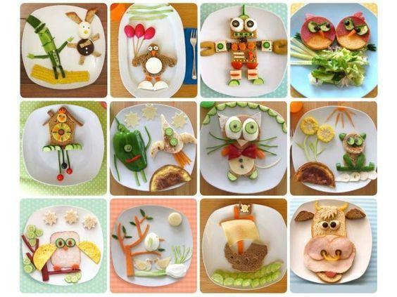 Comida Colorida, Comida Sonriente, Sandwich Divertidos, Para Sandwich, Comida Entretenida, Sandwich Creativos, Comida Sana, Dietas R7, Nutritivos