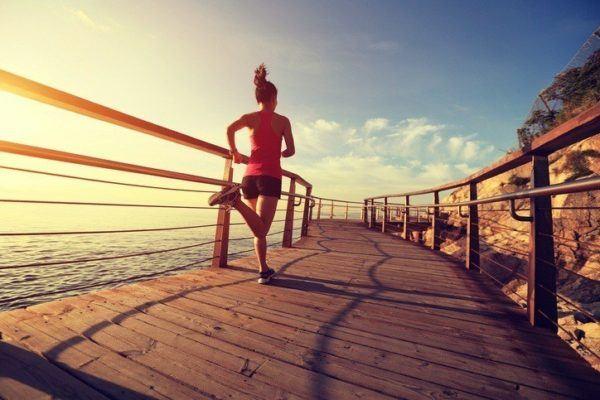 Entrenamiento fisico correr para despejar la mente