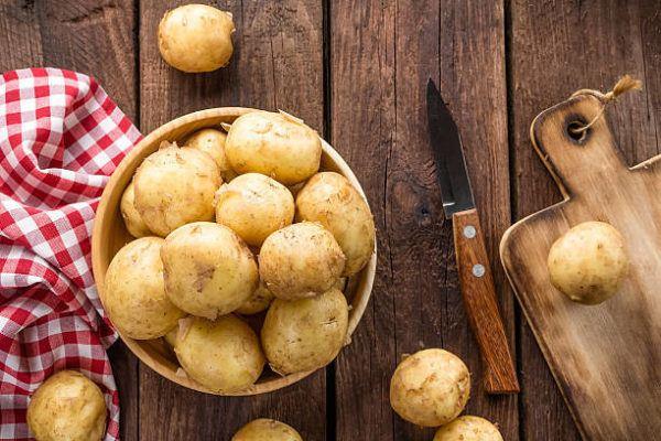 Alimentos bajar presion arterial alta patata