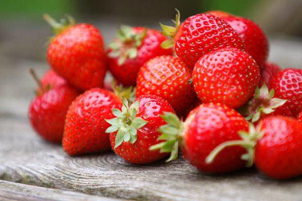 Alimentos detox fresas