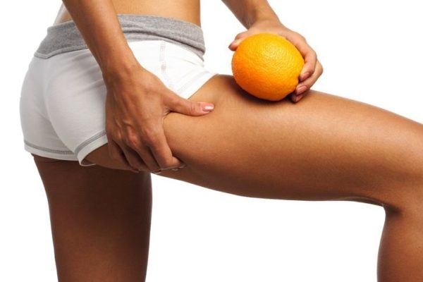 Chica piel naranja