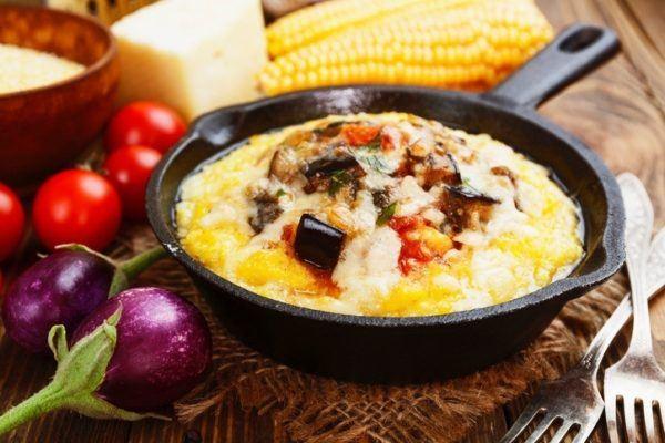 Tipos de polenta polenta al horno con tomillo
