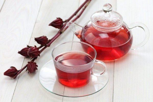 Como tomar hibisco para la salud te de la flor hibisco