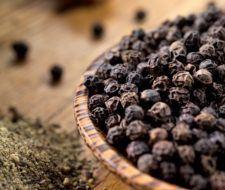 Piperina o pimienta negra para adelgazar