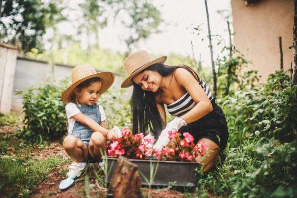 Ejercicios para aliviar el estres jardineria
