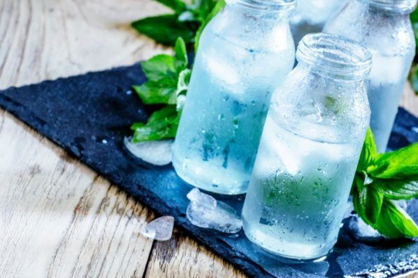 Mejores alimentos para tratar un linfoma agua
