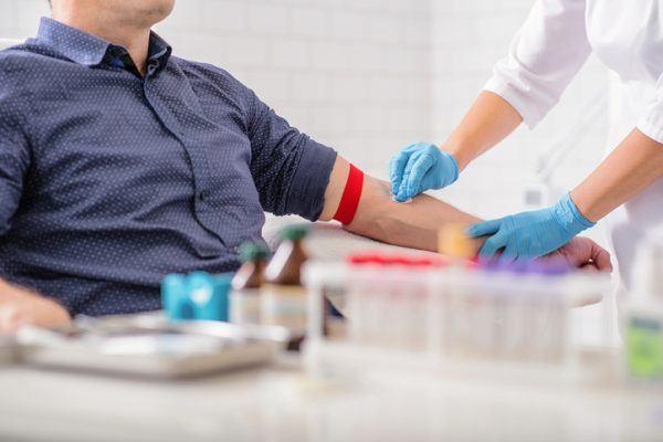 Diagnostico de la pancreatitis aguda extraccion de sangre