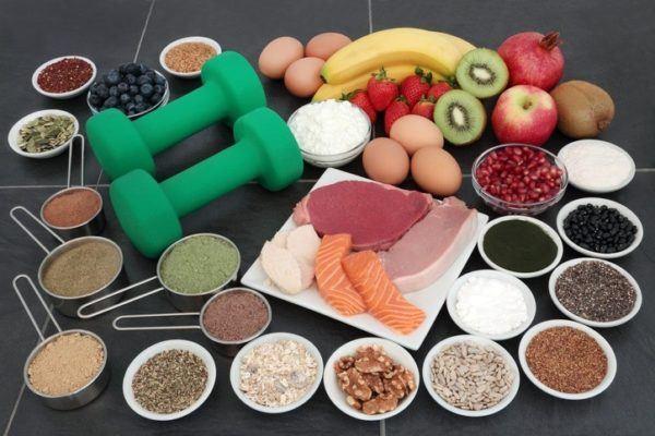 Fotos beneficios glutamina comida