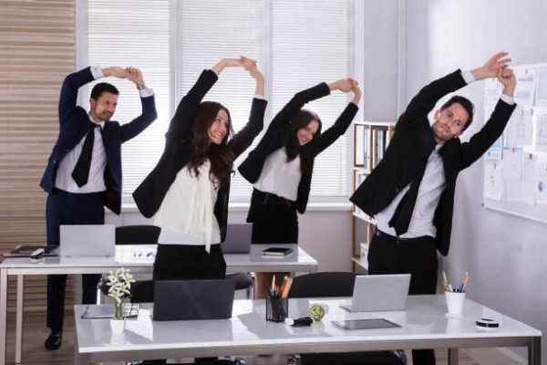 Ejercicios para hacer mientras trabajas en la oficina